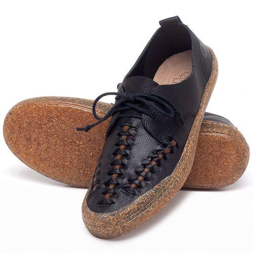 Laranja_Lima_Shoes_Sapatos_Femininos_Tenis_Cano_Baixo_em_Couro_Preto_-_Codigo_-_141146_2