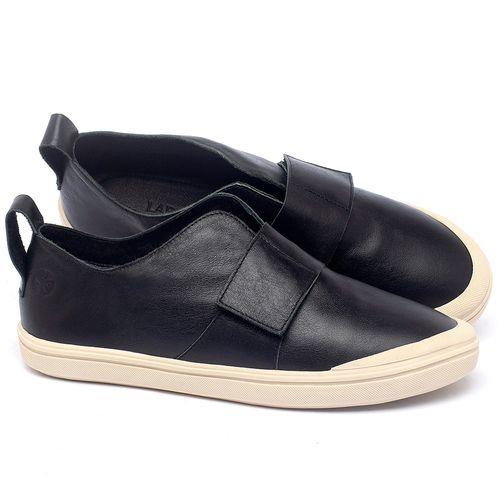 Laranja_Lima_Shoes_Sapatos_Femininos_Tenis_Cano_Baixo_em_Couro_Preto_-_Codigo_-_56206_1