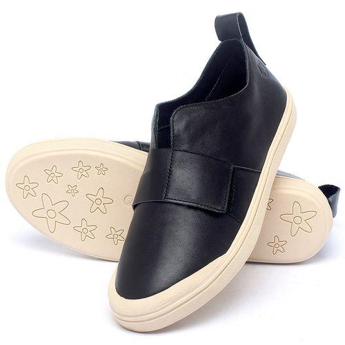 Laranja_Lima_Shoes_Sapatos_Femininos_Tenis_Cano_Baixo_em_Couro_Preto_-_Codigo_-_56206_2