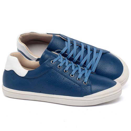 Laranja_Lima_Shoes_Sapatos_Femininos_Tenis_Cano_Baixo_em_Couro_Azul_-_Codigo_-_56207_1