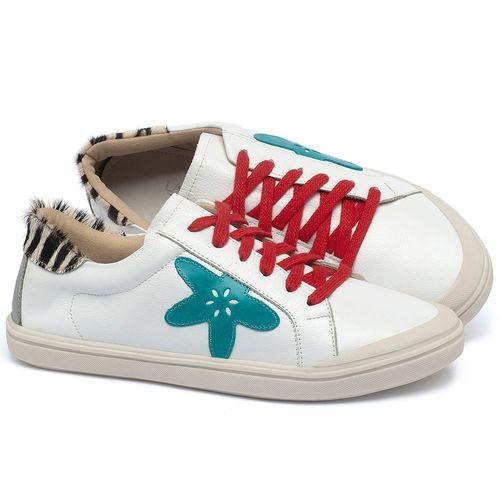 Laranja_Lima_Shoes_Sapatos_Femininos_Tenis_Cano_Baixo_em_Couro_Off-White_-_Codigo_-_56213_1