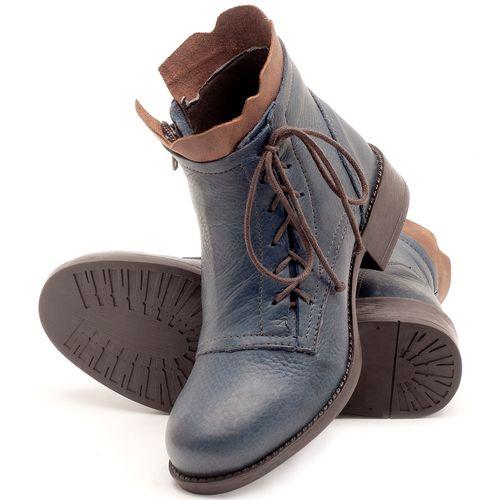 Laranja_Lima_Shoes_Sapatos_Femininos_Bota_Cano_Curto_em_Couro_Marinho_-_Codigo_-_141066_2