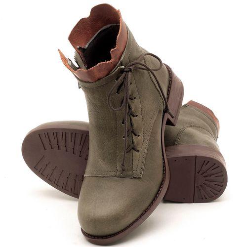 Laranja_Lima_Shoes_Sapatos_Femininos_Bota_Cano_Curto_em_Couro_Musgo_-_Codigo_-_141066_2