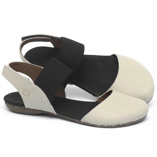 Laranja_Lima_Shoes_Sapatos_Femininos_Sapatilha_Bico_Redondo_em_Couro_Off-White_-_Codigo_-_148027_1