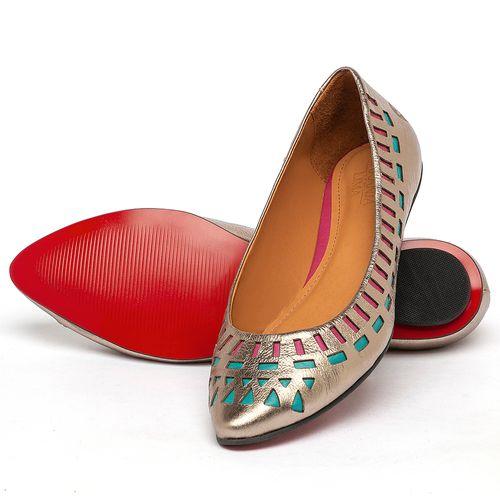 Laranja_Lima_Shoes_Sapatos_Femininos_Sapatilha_Bico_Fino_em_Couro_Metalizado_-_Codigo_-_56224_2