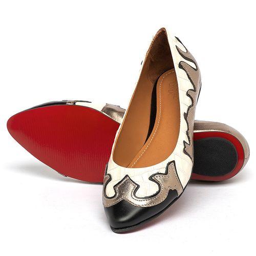 Laranja_Lima_Shoes_Sapatos_Femininos_Sapatilha_Bico_Fino_em_Couro_Metalizado_-_Codigo_-_56225_2