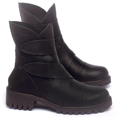 Laranja_Lima_Shoes_Sapatos_Femininos_Bota_Cano_Curto_em_Couro_Preto_-_Codigo_-_137235_1
