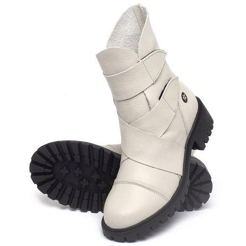 Laranja_Lima_Shoes_Sapatos_Femininos_Bota_Cano_Curto_em_Couro_Off-White_-_Codigo_-_137235_2