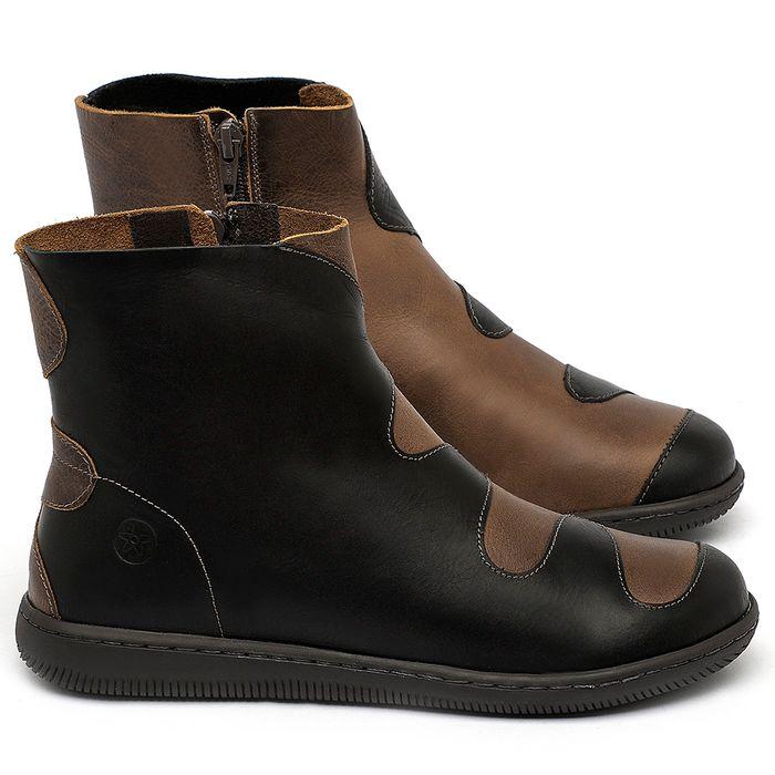 Laranja_Lima_Shoes_Sapatos_Femininos_Flat_Boot_em_Couro_Preto_-_Codigo_-_137325_1