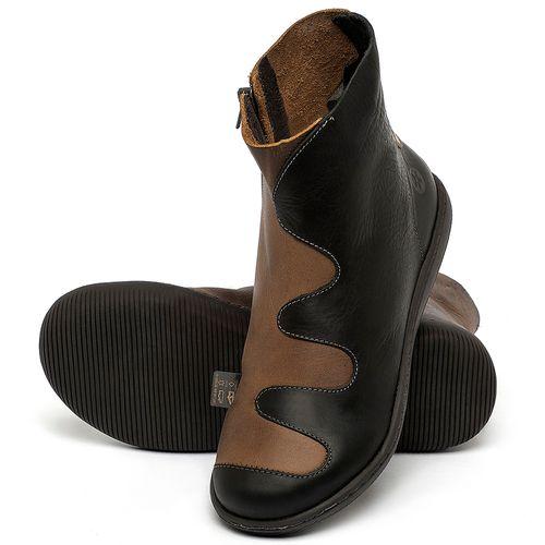 Laranja_Lima_Shoes_Sapatos_Femininos_Flat_Boot_em_Couro_Preto_-_Codigo_-_137325_2
