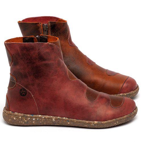 Laranja_Lima_Shoes_Sapatos_Femininos_Flat_Boot_em_Couro_Bicolor_-_Codigo_-_137325_1