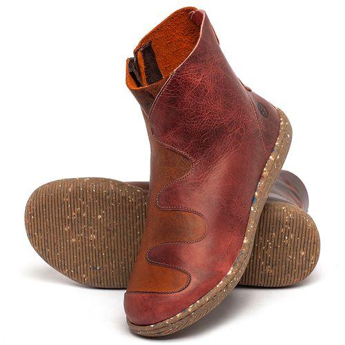Laranja_Lima_Shoes_Sapatos_Femininos_Flat_Boot_em_Couro_Bicolor_-_Codigo_-_137325_2