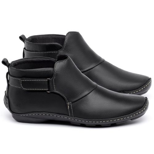 Laranja_Lima_Shoes_Sapatos_Femininos_Flat_Boot_em_Couro_Preto_-_Codigo_-_136031_1