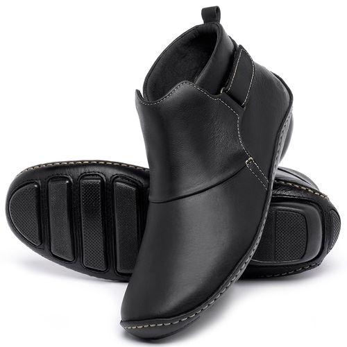 Laranja_Lima_Shoes_Sapatos_Femininos_Flat_Boot_em_Couro_Preto_-_Codigo_-_136031_2
