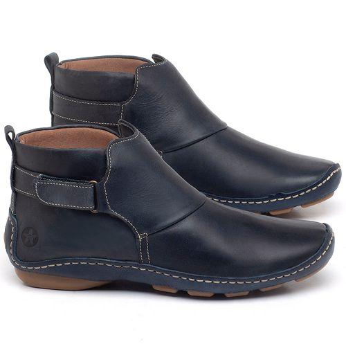 Laranja_Lima_Shoes_Sapatos_Femininos_Flat_Boot_em_Couro_Marinho_-_Codigo_-_136031_1