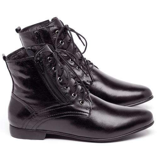 Laranja_Lima_Shoes_Sapatos_Femininos_Bota_Cano_Curto_em_Couro_Preto_-_Codigo_-_136066_1