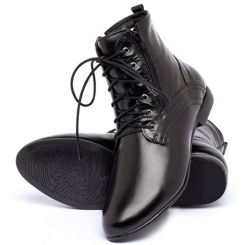 Laranja_Lima_Shoes_Sapatos_Femininos_Bota_Cano_Curto_em_Couro_Preto_-_Codigo_-_136066_2