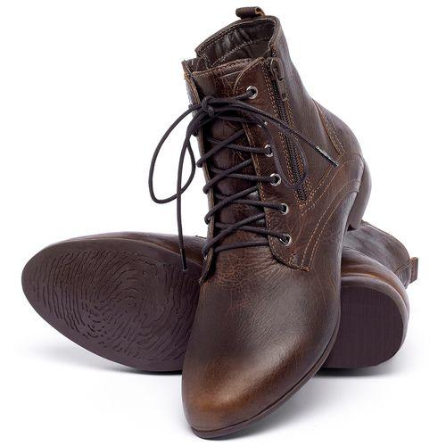 Laranja_Lima_Shoes_Sapatos_Femininos_Bota_Cano_Curto_em_Couro_Marrom_-_Codigo_-_136066_2