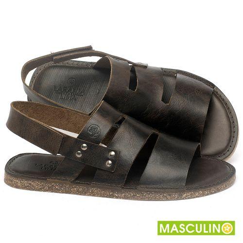 Laranja_Lima_Shoes_Sapatos_Masculinos_Rasteira_em_Couro_Marrom_-_Codigo_-_141180_1