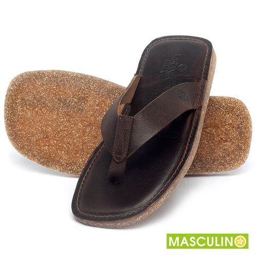 Laranja_Lima_Shoes_Sapatos_Masculinos_Rasteira_em_Couro_Marrom_-_Codigo_-_141182_2