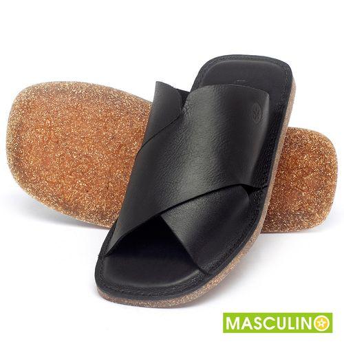 Laranja_Lima_Shoes_Sapatos_Masculinos_Rasteira_em_Couro_Preto_-_Codigo_-_141181_2