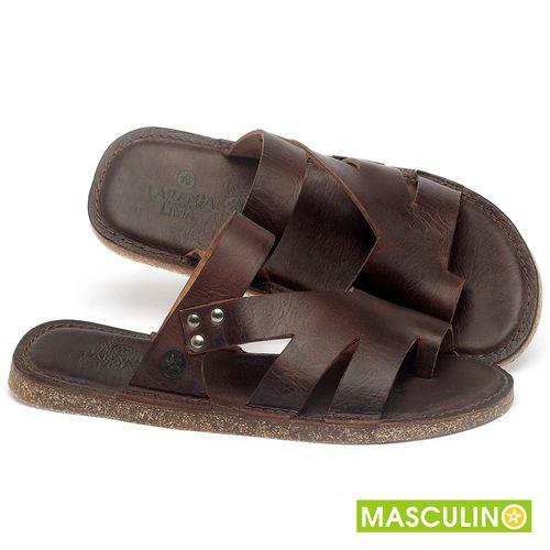 Laranja_Lima_Shoes_Sapatos_Masculinos_Rasteira_em_Couro_Marrom_-_Codigo_-_141184_1