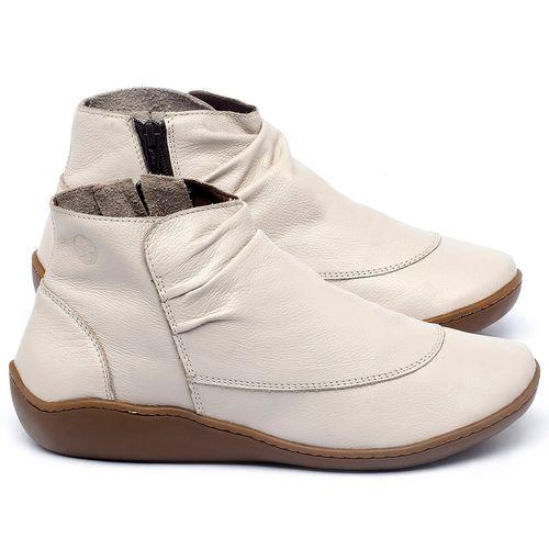 Laranja_Lima_Shoes_Sapatos_Femininos_Flat_Boot_em_Couro_Off-White_-_Codigo_-_139037_1