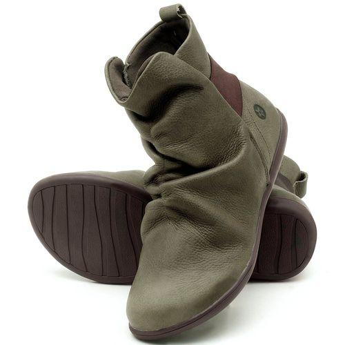 Laranja_Lima_Shoes_Sapatos_Femininos_Flat_Boot_em_Couro_Musgo_-_Codigo_-_137171_2
