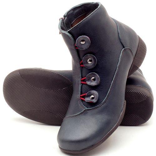 Laranja_Lima_Shoes_Sapatos_Femininos_Flat_Boot_em_Couro_Marinho_-_Codigo_-_141064_2
