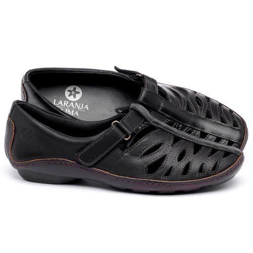 Laranja_Lima_Shoes_Sapatos_Femininos_Tenis_Cano_Baixo_em_Couro_Preto_-_Codigo_-_136012_1