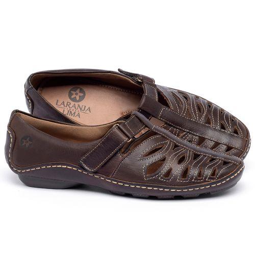 Laranja_Lima_Shoes_Sapatos_Femininos_Tenis_Cano_Baixo_em_Couro_Marrom_-_Codigo_-_136012_1