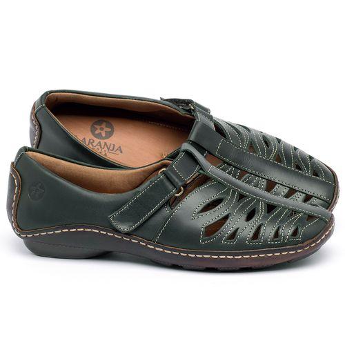 Laranja_Lima_Shoes_Sapatos_Femininos_Tenis_Cano_Baixo_em_Couro_Verde_-_Codigo_-_136012_1