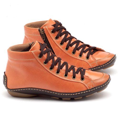Laranja_Lima_Shoes_Sapatos_Femininos_Tenis_Cano_Alto_em_Couro_Laranja_-_Codigo_-_136030_1