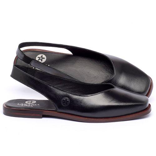 Laranja_Lima_Shoes_Sapatos_Femininos_Sapatilha_Bico_Quadrado_em_Couro_Preto_-_Codigo_-_136081_1