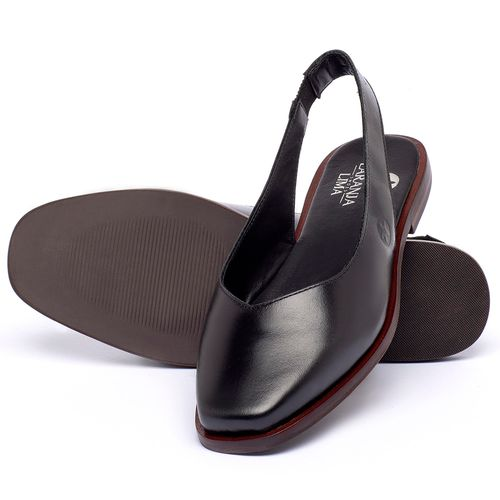 Laranja_Lima_Shoes_Sapatos_Femininos_Sapatilha_Bico_Quadrado_em_Couro_Preto_-_Codigo_-_136081_2