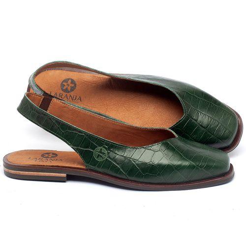 Laranja_Lima_Shoes_Sapatos_Femininos_Sapatilha_Bico_Quadrado_em_Couro_Verde_-_Codigo_-_136081_1
