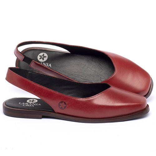 Laranja_Lima_Shoes_Sapatos_Femininos_Sapatilha_Bico_Quadrado_em_Couro_Vermelho_-_Codigo_-_136081_1