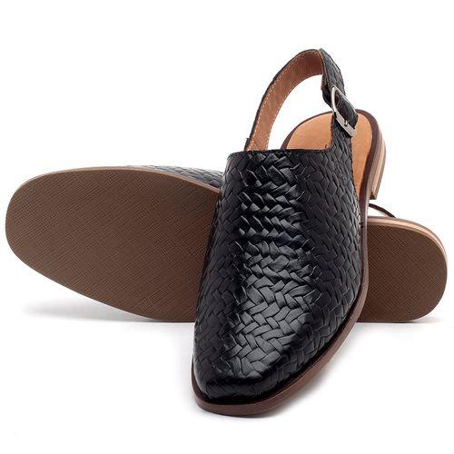 Laranja_Lima_Shoes_Sapatos_Femininos_Sapatilha_Bico_Quadrado_em_Couro_Preto_-_Codigo_-_136085_2