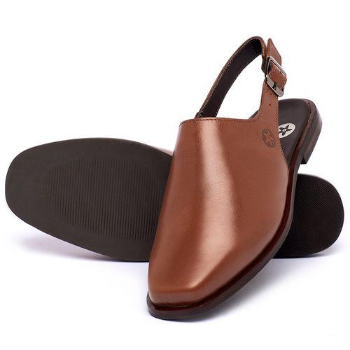 Laranja_Lima_Shoes_Sapatos_Femininos_Sapatilha_Bico_Quadrado_em_Couro_Caramelo_-_Codigo_-_136085_2