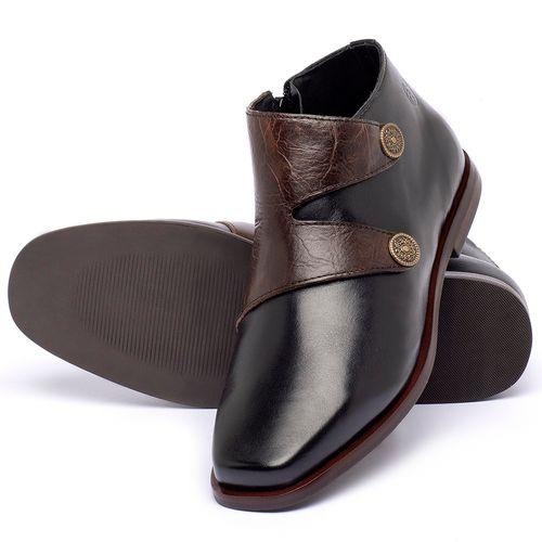 Laranja_Lima_Shoes_Sapatos_Femininos_Bota_Cano_Curto_em_Couro_Preto_-_Codigo_-_136087_2