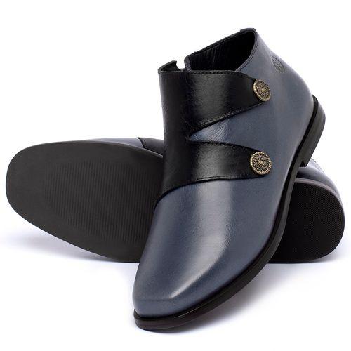 Laranja_Lima_Shoes_Sapatos_Femininos_Bota_Cano_Curto_em_Couro_Azul_-_Codigo_-_136087_2