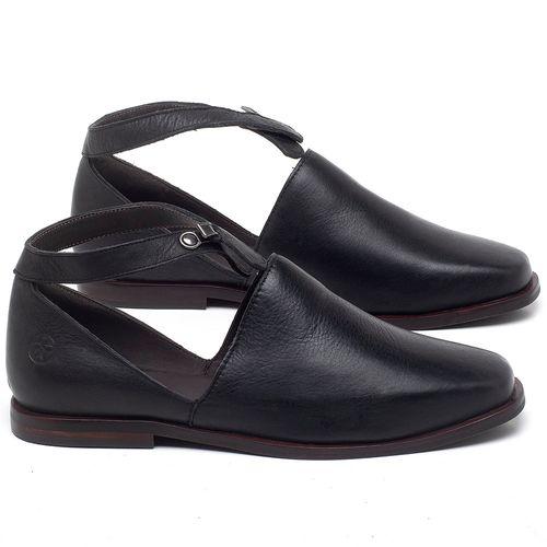 Laranja_Lima_Shoes_Sapatos_Femininos_Sapatilha_Bico_Quadrado_em_Couro_Preto_-_Codigo_-_136090_1