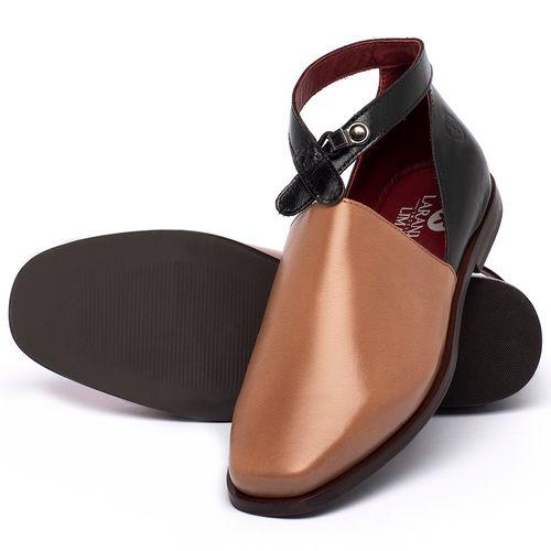 Laranja_Lima_Shoes_Sapatos_Femininos_Sapatilha_Bico_Quadrado_em_Couro_Caramelo_-_Codigo_-_136090_2