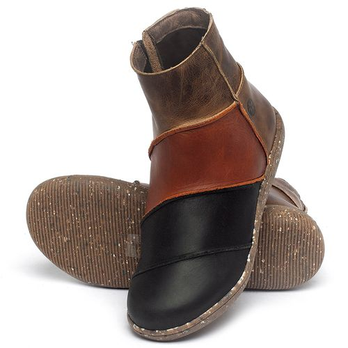 Laranja_Lima_Shoes_Sapatos_Femininos_Flat_Boot_em_Couro_Multicolor_-_Codigo_-_137326_2