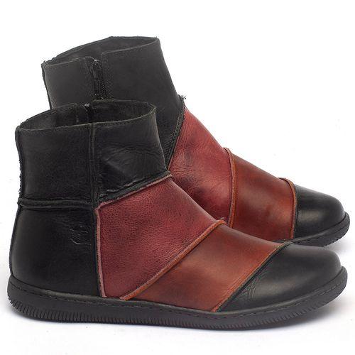 Laranja_Lima_Shoes_Sapatos_Femininos_Flat_Boot_em_Couro_Multicolor_-_Codigo_-_137326_1