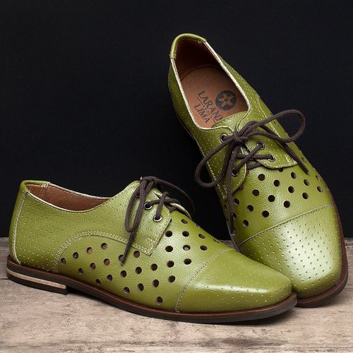 Laranja_Lima_Shoes_Sapatos_Femininos_Oxford_Laranja_Lima_Shoes_em_Couro_Verde_-_Codigo_-_136101_2