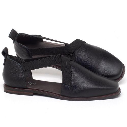 Laranja_Lima_Shoes_Sapatos_Femininos_Sapatilha_Bico_Quadrado_em_Couro_Preto_-_Codigo_-_136084_1
