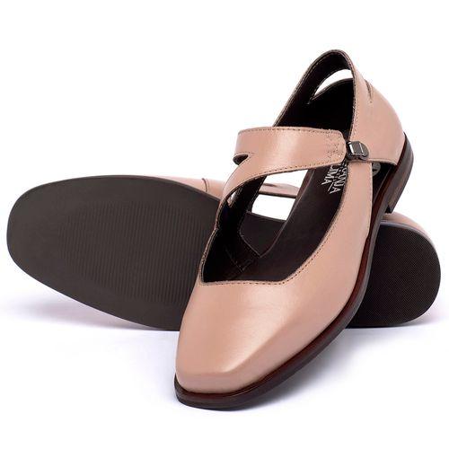 Laranja_Lima_Shoes_Sapatos_Femininos_Sapatilha_Bico_Quadrado_em_Couro_Nude_-_Codigo_-_136091_2