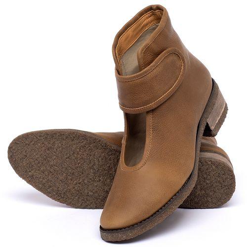 Laranja_Lima_Shoes_Sapatos_Femininos_Bota_Cano_Curto_em_Couro_Caramelo_-_Codigo_-_56230_2