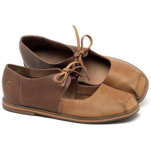Laranja_Lima_Shoes_Sapatos_Femininos_Sapatilha_Bico_Quadrado_em_Couro_Bicolor_-_Codigo_-_3052_1